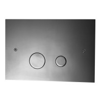Tapwell DUO112 Seinä-WC:n huuhtelupainike Black Chrome