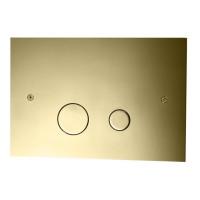 Tapwell DUO112 Seinä-WC:n huuhtelupainike Honey Gold