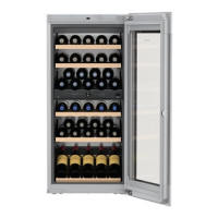 Viinikaappi Liebherr EWTgb 2383 Vinidor Musta