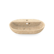 Woodio Soft 60 Ovaali allas hanapaikalla Natural Glossy