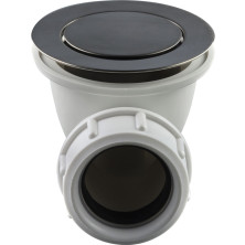 Tapwell 22200 Pop-up pohjaventtiili Brushed Black Chrome