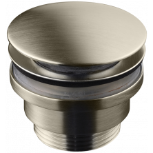Tapwell 74400 Pop-up pohjaventtiili brushed nickel