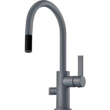 Tapwell ARM385 Keittiöhana astianpesukoneventtiilillä Ascot Grey