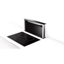 Työtasosta nouseva liesituuletin Faber Fabula Plus 90 cm Musta lasi / Teräs