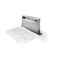 Työtasosta nouseva liesituuletin Faber Fabula Plus 90 cm Valkoinen lasi / Teräs