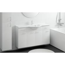 Otsoson Marilyn 1200  kylpyhuoneryhmä Valkoinen sileä