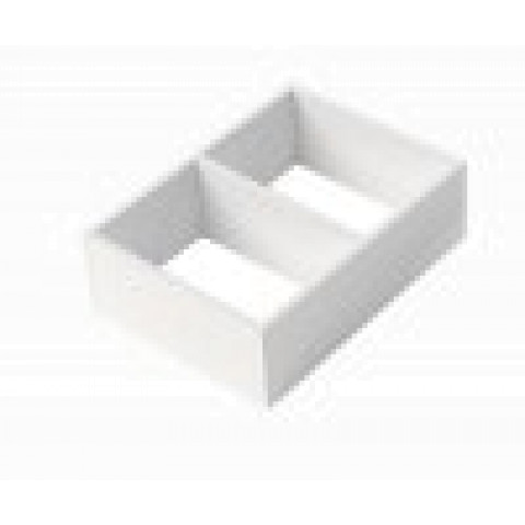Valkea lokerikko mdf | LOK2VA50