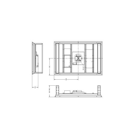 Savo Liesituuletin eRH-9511-S 110 cm RST