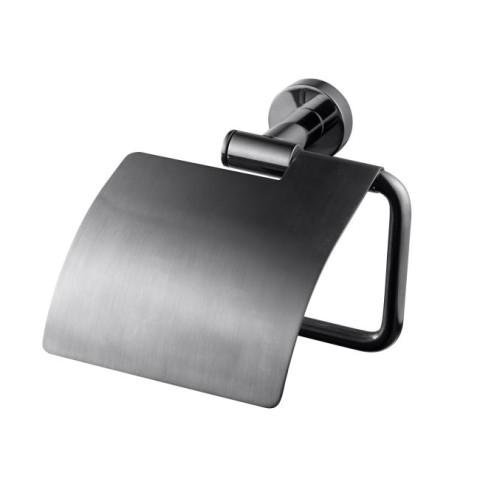 Tapwell TA236 WC-paperiteline Black Chrome / Musta kromi
