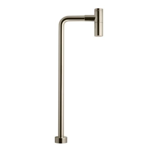 Brushed Nickel vesilukko ja putki | Tapwell XA100