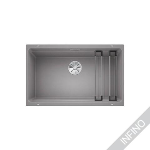 Keittiöallas Blanco Etagon 700-U Silgranit Alumetallic