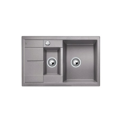 Keittiöallas Blanco Metra 6 S Compact Silgranit Alumetallic