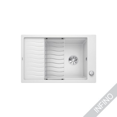 Keittiöallas Blanco Elon XL 6 S-F Silgranit Valkoinen