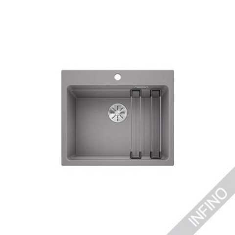Keittiöallas Blanco Etagon 6 Silgranit Alumetallic