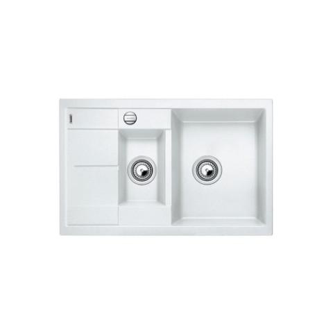 Keittiöallas Blanco Metra 6 S Compact Silgranit Valkoinen
