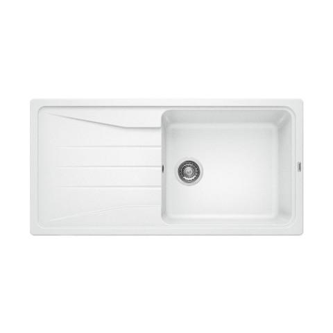 Keittiöallas Blanco Sona XL 6 S Silgranit Valkoinen