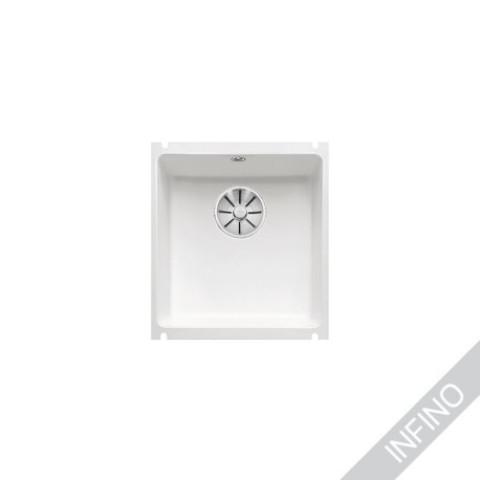 Keittiöallas Blanco Subline 375-U Kivikeraaminen KristallinValkoinen