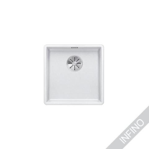 Keittiöallas Blanco Subline 400-F Silgranit Valkoinen