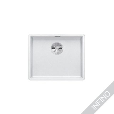 Keittiöallas Blanco Subline 500-F Silgranit Valkoinen