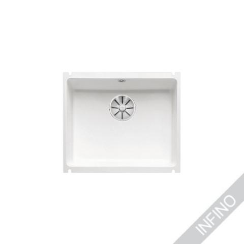 Keittiöallas Blanco Subline 500-U Kivikeraaminen KristallinValkoinen