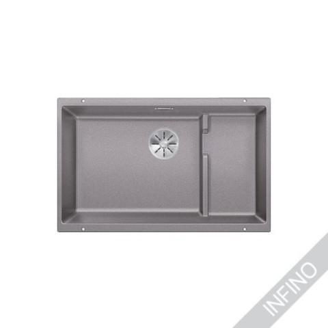Keittiöallas Blanco Subline 700-U Level Silgranit Alumetallic