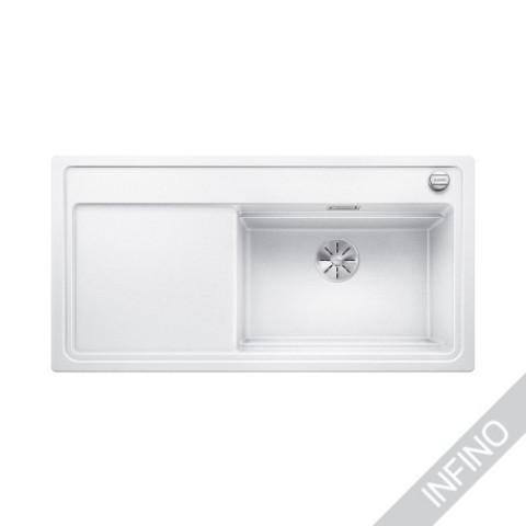 Keittiöallas Blanco Zenar XL 6 S SteamerPlus Silgranit Valkoinen
