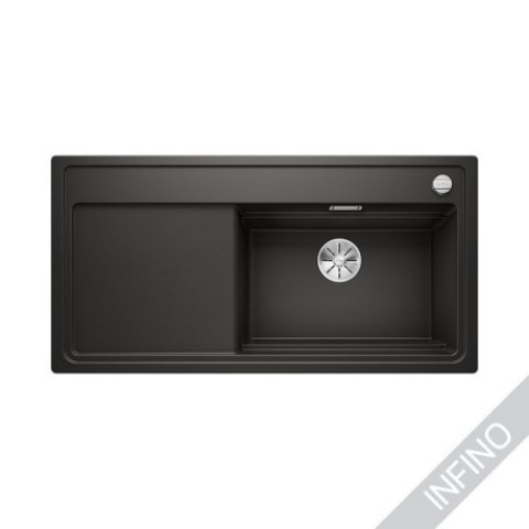 Keittiöallas Blanco Zenar XL 6 S SteamerPlus Silgranit MattaMusta