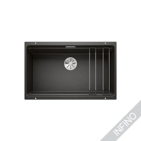 Keittiöallas Blanco Etagon 700-U Silgranit MattaMusta