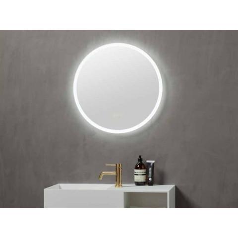 Pyöreä peili valolla 60cm   iLed Rondo