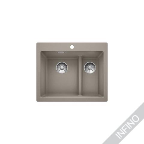 Keittiöallas Blanco Pleon 6 Split Silgranit Tartufo