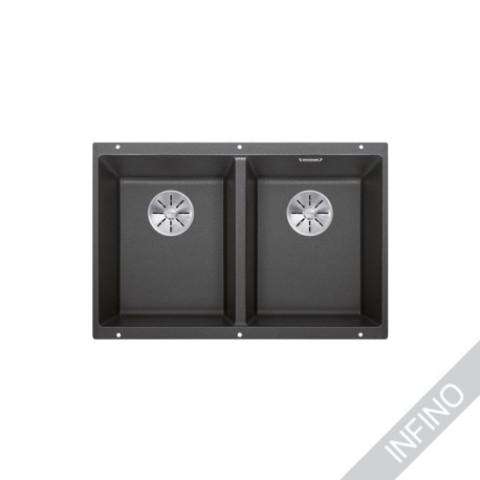 Keittiöallas Blanco Subline 350/350-U InFino Silgranit Anthrazit